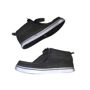 Lugz Mens Boots Shoes Gray Chukka Mid VTG Dress 8